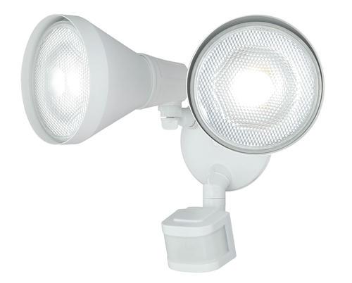 Patriot Lighting® Dual Head Motion Sensor Outdoor Security Flood