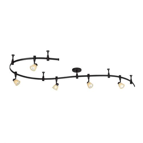 Patriot Lighting Emma 108 Bronze 5 Light Flex Track