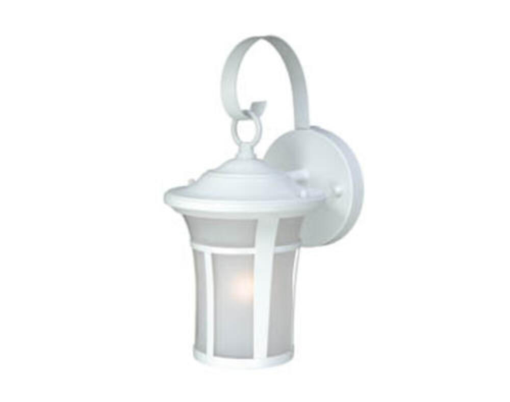 Patriot Lighting Granby Textured White Outdoor Wall Light At Menards