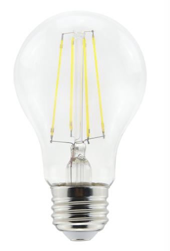 Led Light Bulb Daylight: Lumitek 60W Equivalent Dimmable General Purpose Glass A19