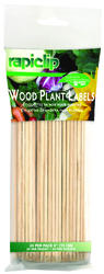 "6"" Wood Plant Labels - 24 Pack"