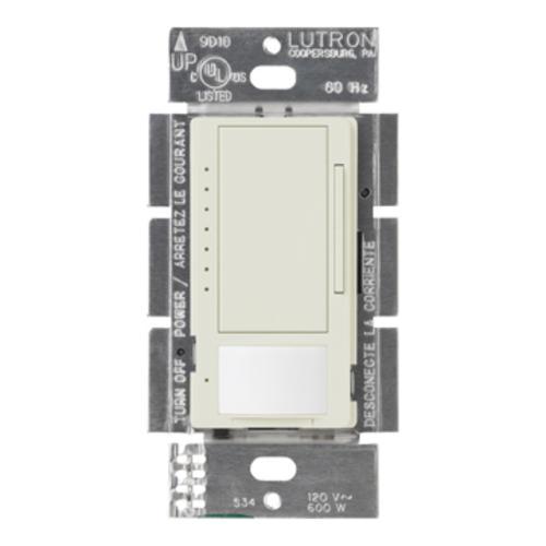 Lutron MS-OP600M-LA 600w Multi-Location Dimmer w//Occupancy Sensor Light Almond