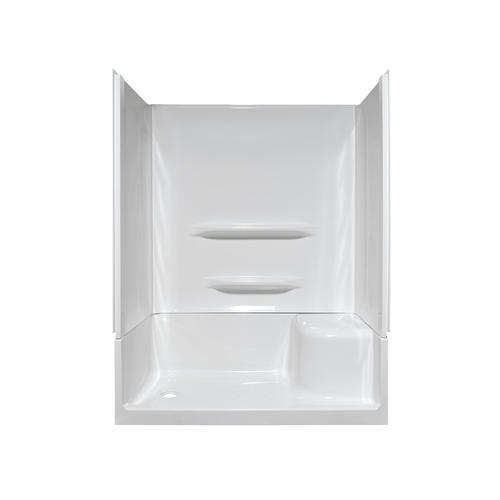 Lyons Elite  60  x 32  x 19  Right Hand Seated Shower Base  Left Hand  Drain  at Menards. Lyons Elite  60  x 32  x 19  Right Hand Seated Shower Base  Left