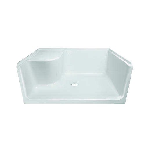 Lyons Linear 48 X 34 X 19 Center Drain Left Hand Seated Shower