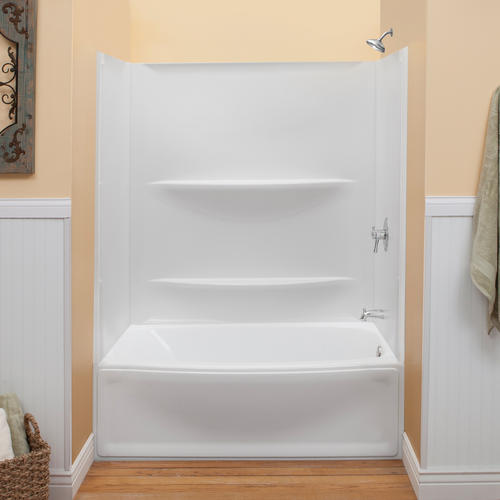 Lyons Contour 60 Quot X 32 Quot Bathtub Wall Surround At Menards 174