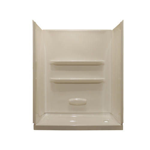 Lyons Elite 60 X 32 Right Hand Drain Shower Base And Wall