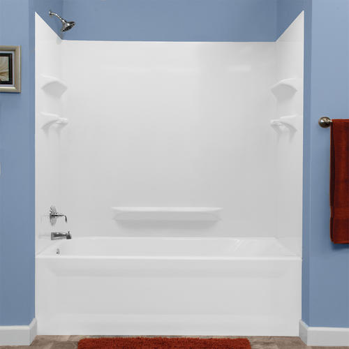 Lyons Palm Springs 60 Quot X 32 Quot Bathtub Wall Surround At Menards 174