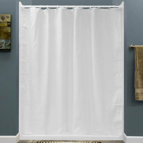 lyons weighted shower curtain at menards. Black Bedroom Furniture Sets. Home Design Ideas