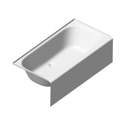 Lyons Victory 54 X 27 16 Above Floor Drain Bathtub At