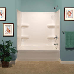 Lyons Elite 54 Quot X 27 Quot Bathtub Wall Surround At Menards 174