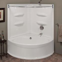 Lyons Sea Wave V X X Bathtub With Rear Center Dain At - 4x4 bathtub