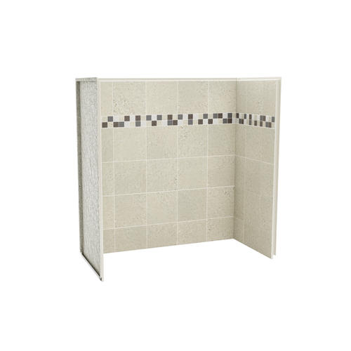 Tub Shower Wall Panels.Maax Utile Stone 60 X 30 Bathtub Wall Surround At Menards