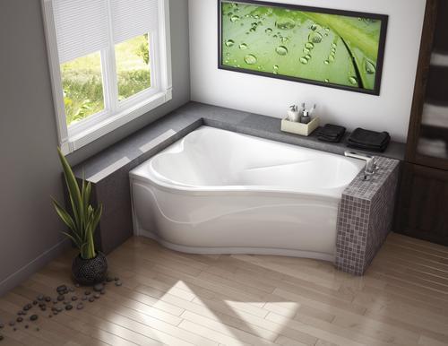 Maax 174 Murmur 60 Quot X 43 Quot Drop In Corner Soaking Bathtub At