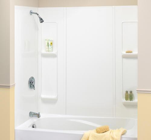 "maax® elan 60"" x 30"" bathtub wall surround at menards®"