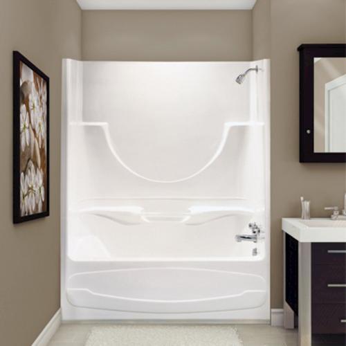 MAAX Figaro II -1-Piece Tub Shower - AFR -Left Drain at Menards®