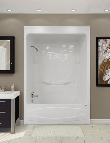 Figaro I 59 W X 33 D 3 Piece Bathtub