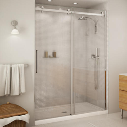 Maax halo 56 12 59 sliding 2 panel shower door at menards planetlyrics Image collections