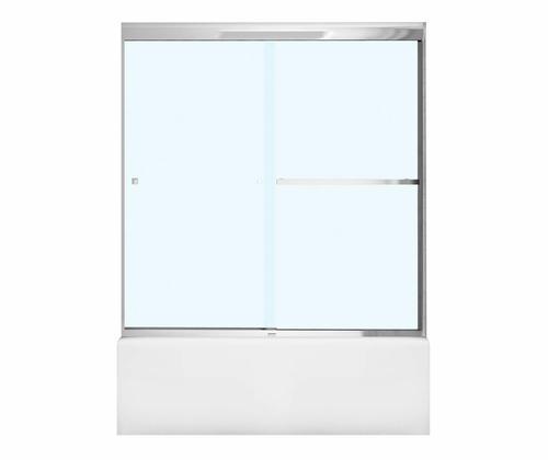 Maax 174 Aura 8 59 W X 57 Quot H Semi Frameless Sliding Shower