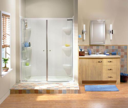 Maax 54 Kleara Pivot 2 Panel Shower Door At Menards