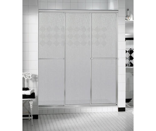 Maax Triple Plus 48 3 Panel Sliding Shower Door At Menards