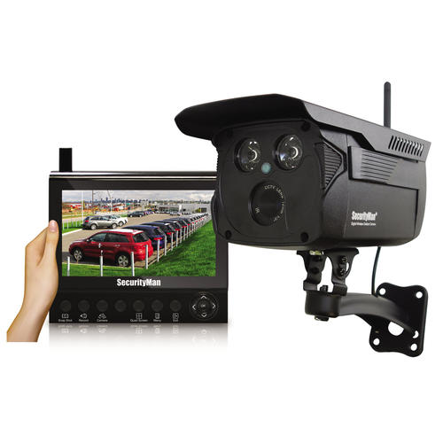 SecurityMan 4-Channel 1-Camera Wireless Security Camera Kit