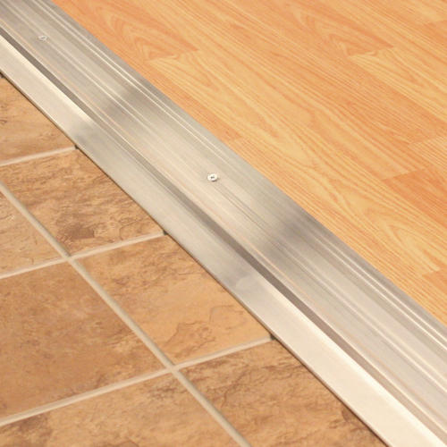 "M-D Custom Size Commercial Panic Exit-Latch Track Aluminum Threshold 1-3/4"" Wide x 1/4"" x 60-1/2"" Long"
