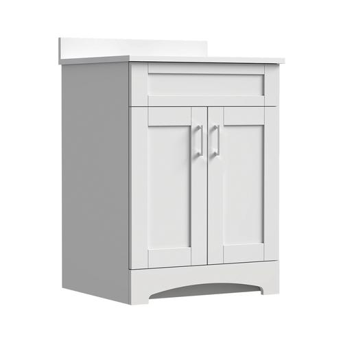 Magick Woods Elements Brighton 24 W X 21 D Bathroom Vanity Cabinet At Menards