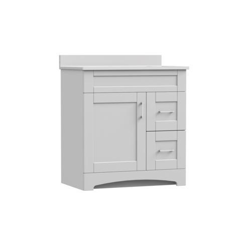 Magick Woods Elements Brighton 30 W X 18 D Bathroom Vanity Cabinet At Menards