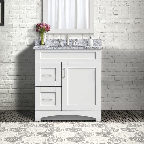 "Magick Woods Elements Brighton 30""W x 18""D Bathroom Vanity ..."