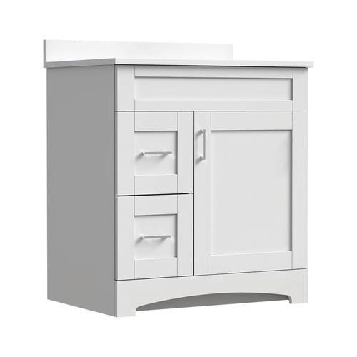 Magick Woods Elements Brighton 30 W X 21 D Bathroom Vanity Cabinet At Menards