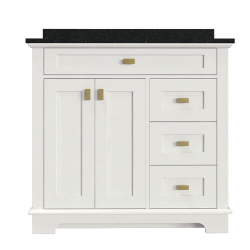 Magick Woods Windermere 36 5 16 W X 21 5 8 D Bathroom Vanity Cabinet At Menards