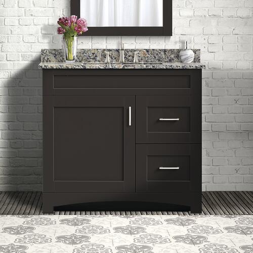 "Magick Woods Elements Brighton 36""W x 18""D Bathroom Vanity ..."