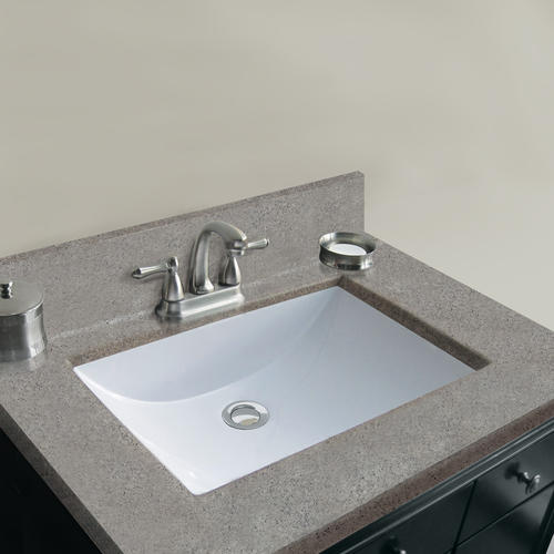 Magick Woods Elements 31 Quot W X 22 Quot D Pewter Cultured Marble Vanity Top With Wave Bowl At Menards 174