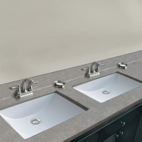 X 22 D Pewter Cultured Marble Vanity