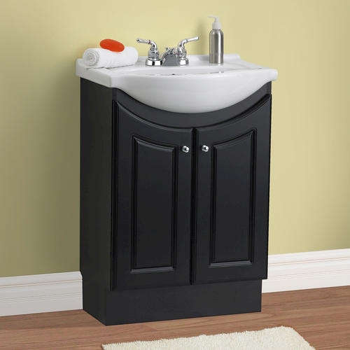 "Bathroom Sinks At Menards magick woods 24"" eurostone collection vanity ensemble at menards®"