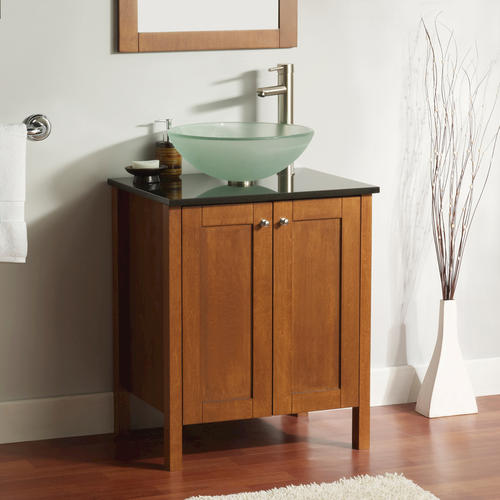 "Bathroom Sinks At Menards magick woods 24"" whyndam collection vanity base at menards®"