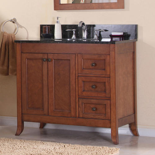 "Bathroom Vanity Base magick woods 37-1/4"" ashwell collection vanity base at menards®"
