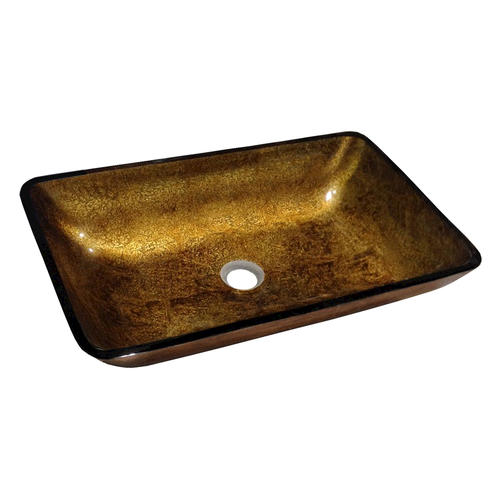 . Magick Woods 22 1 4  Golden Filigree Vessel Sink at Menards