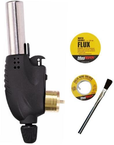 Mag-Torch® Trigger-Start Propane Torch Plumbing Kit at Menards®
