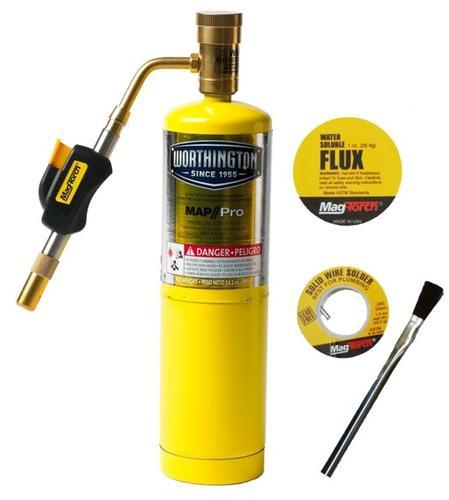 Mag-Torch® Self-Light MAP//Pro Plumbers Kit at Menards®