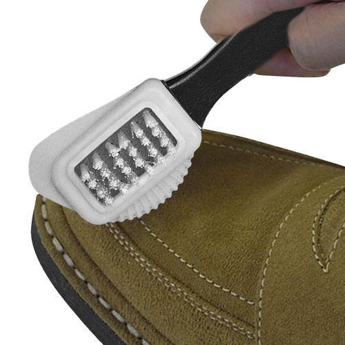Jobsite Suede And Nubuck Leather Cleaning Brush Black White Copper