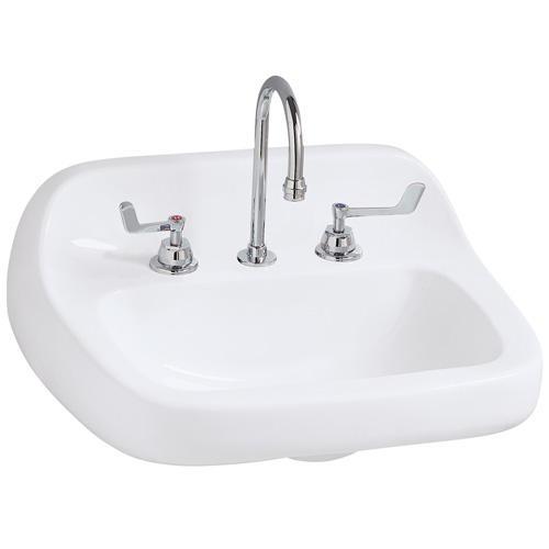 Mansfield Grande Isle Ada Wall Mount Bathroom Sink 8