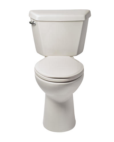 mansfield denali elongated front ada height 2piece complete toilet at menards - Mansfield Toilet