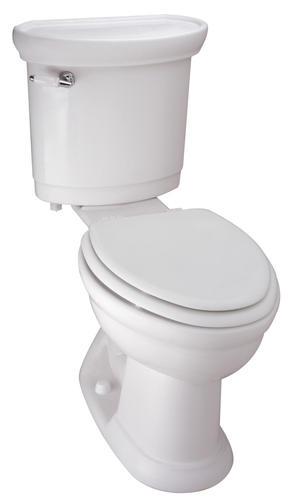 Attirant Mansfield® Waverly White Elongated Front SmartHeight ADA 2 Piece Toilet At  Menards®