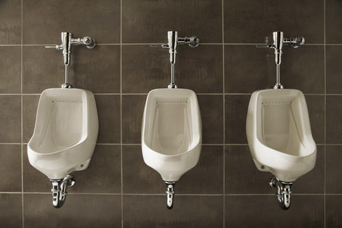 Commercial Bathroom Urinals How To Install A Waterless