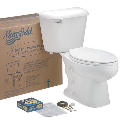 Incredible Mansfield Pro Fit2 2 Piece Standard Height Elongated Machost Co Dining Chair Design Ideas Machostcouk