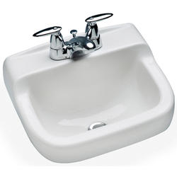 Mansfield Spruce Cove Wall Mount Bathroom Sink 4 Center
