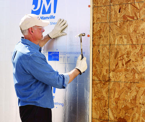 Johns Manville Foil Faced Polyiso Foam Insulation 4 X 8