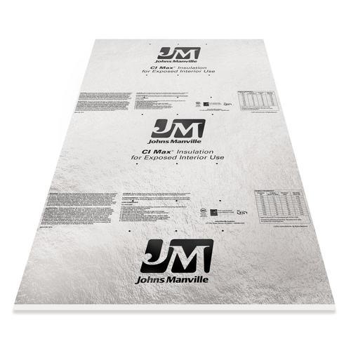 Johns Manville Ci Max Polyiso Foam Board Insulation 4 X 8 At Menards