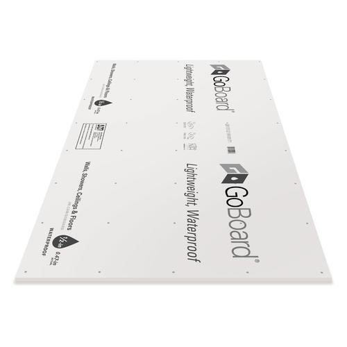 Goboard 1 2 3 X 5 Ultra Light Waterproof Tile Underlayment At Menards